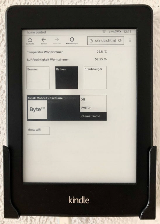 KindleHomeDisplay